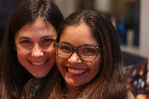 Amy and Josana, cofounders of the Women Who Whiskey Geneva chapter © Daisy Larios